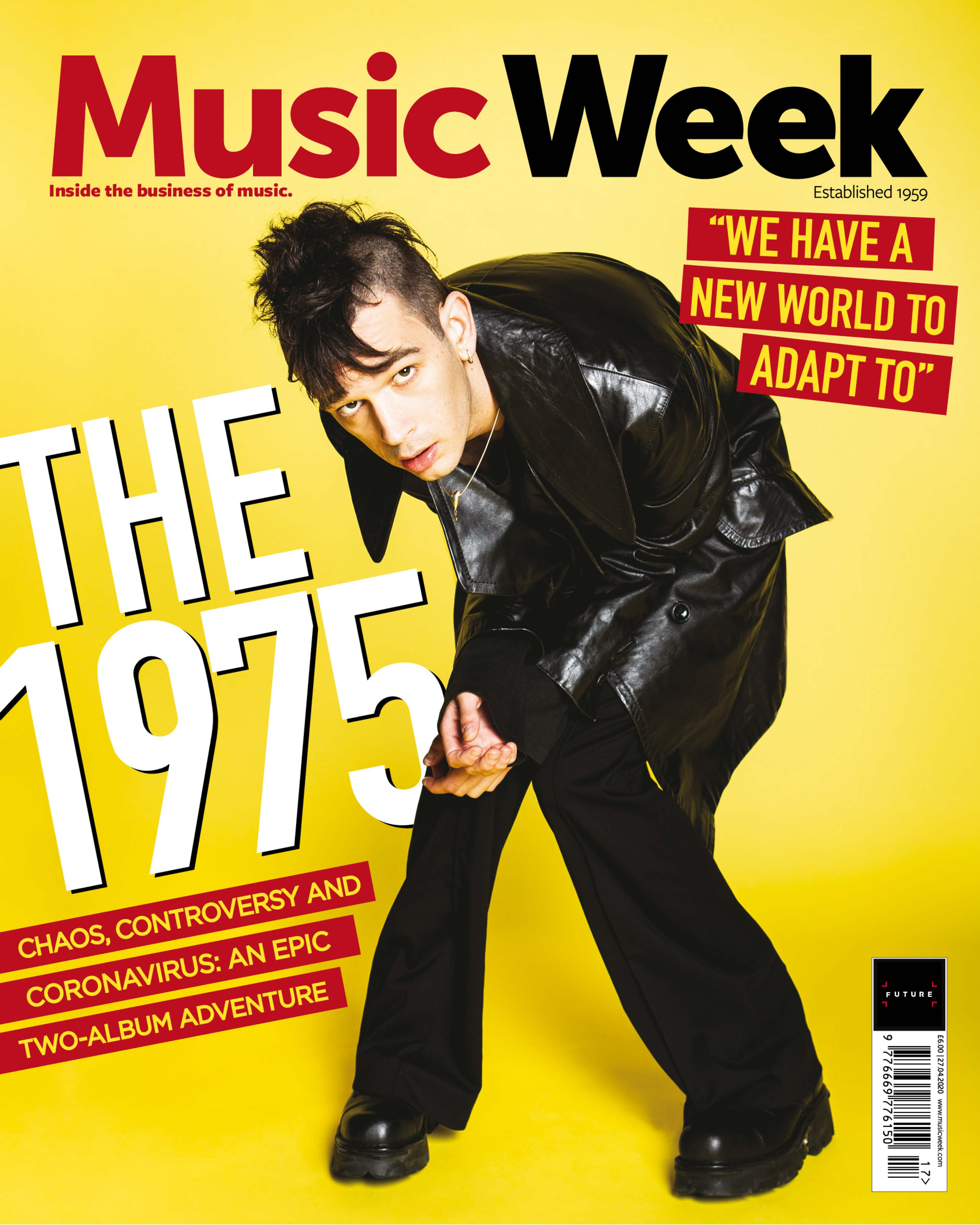 MUSIC WEEK_THE 1975_COVER